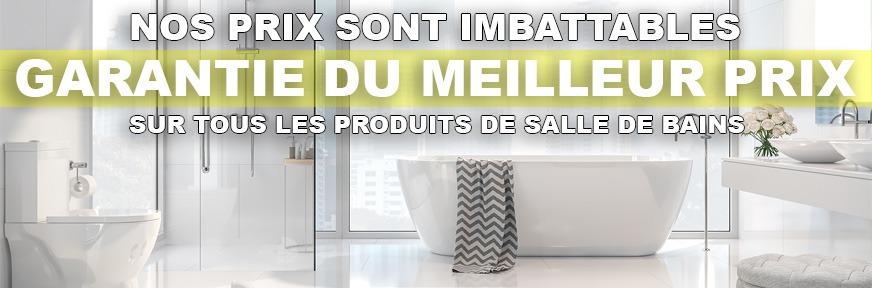 Prix imbattables sur meubles lavabo et vanités de salle de bain